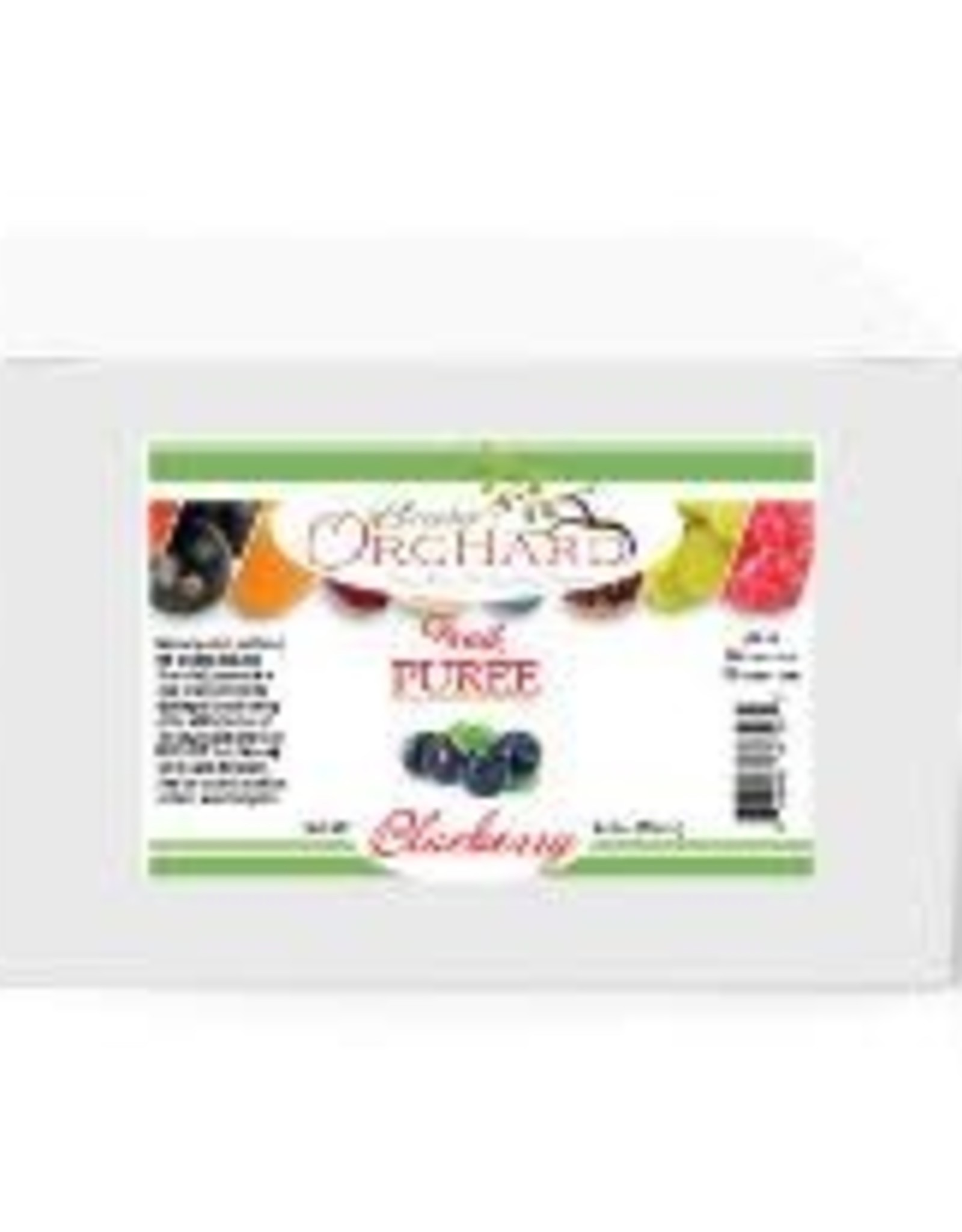 BREWER'S ORCHARD BREWER'S ORCHARD NATURAL BLUEBERRY FRUIT PUREE 4.4 LB