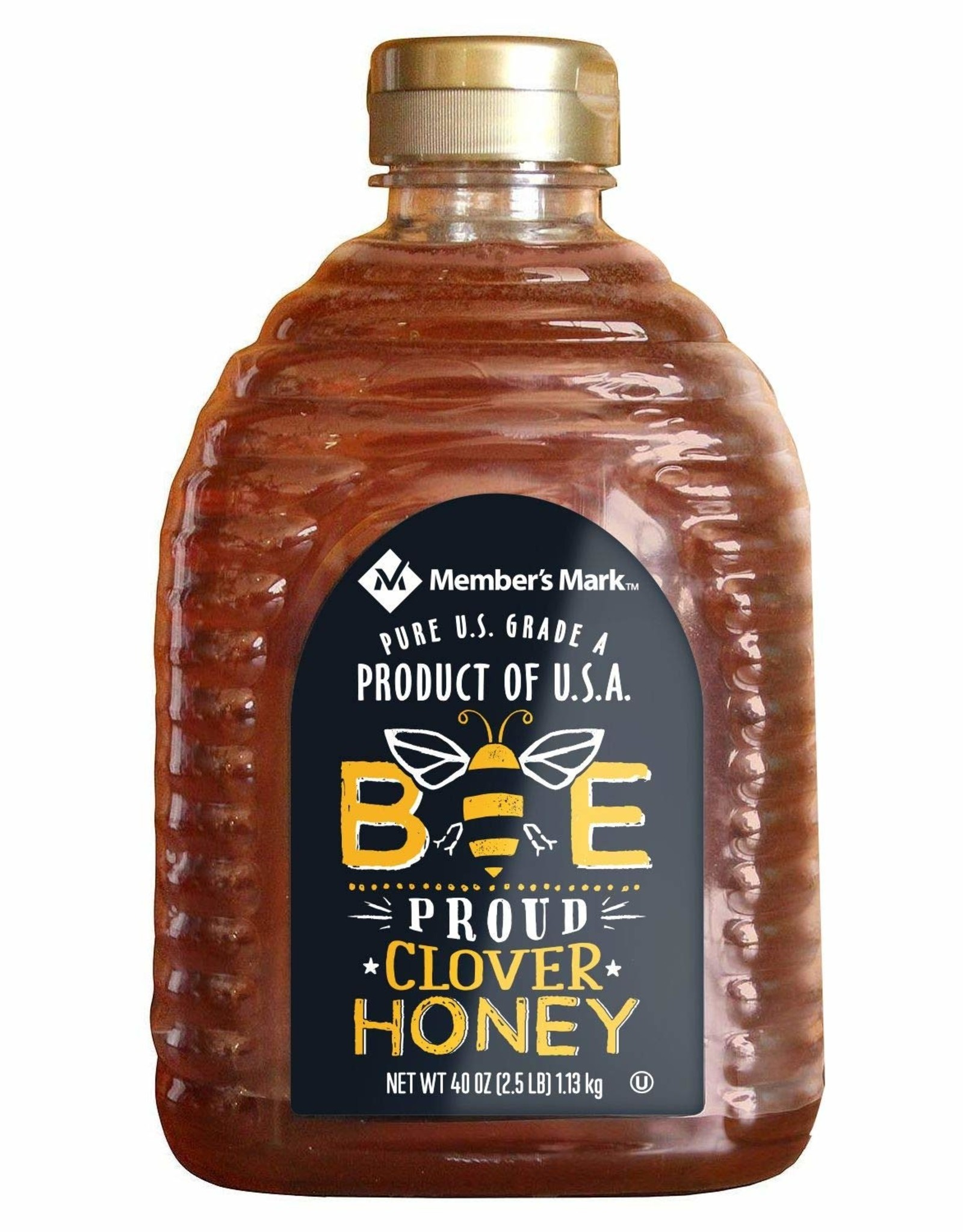 CLOVER HONEY- 2.5 lb.