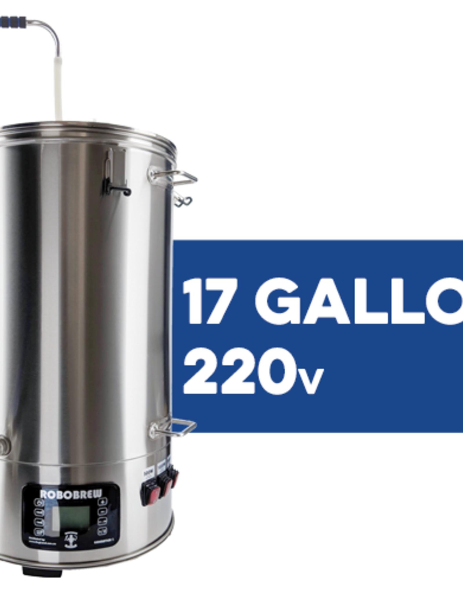 BrewZilla V3.1.1 All Grain Brewing System With Pump - 65L/17.1G (220V)