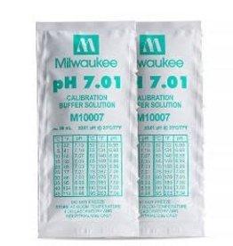 MILWAUKEE pH METER BUFFER SOLUTION FOR pH 7.01 20mL PACK