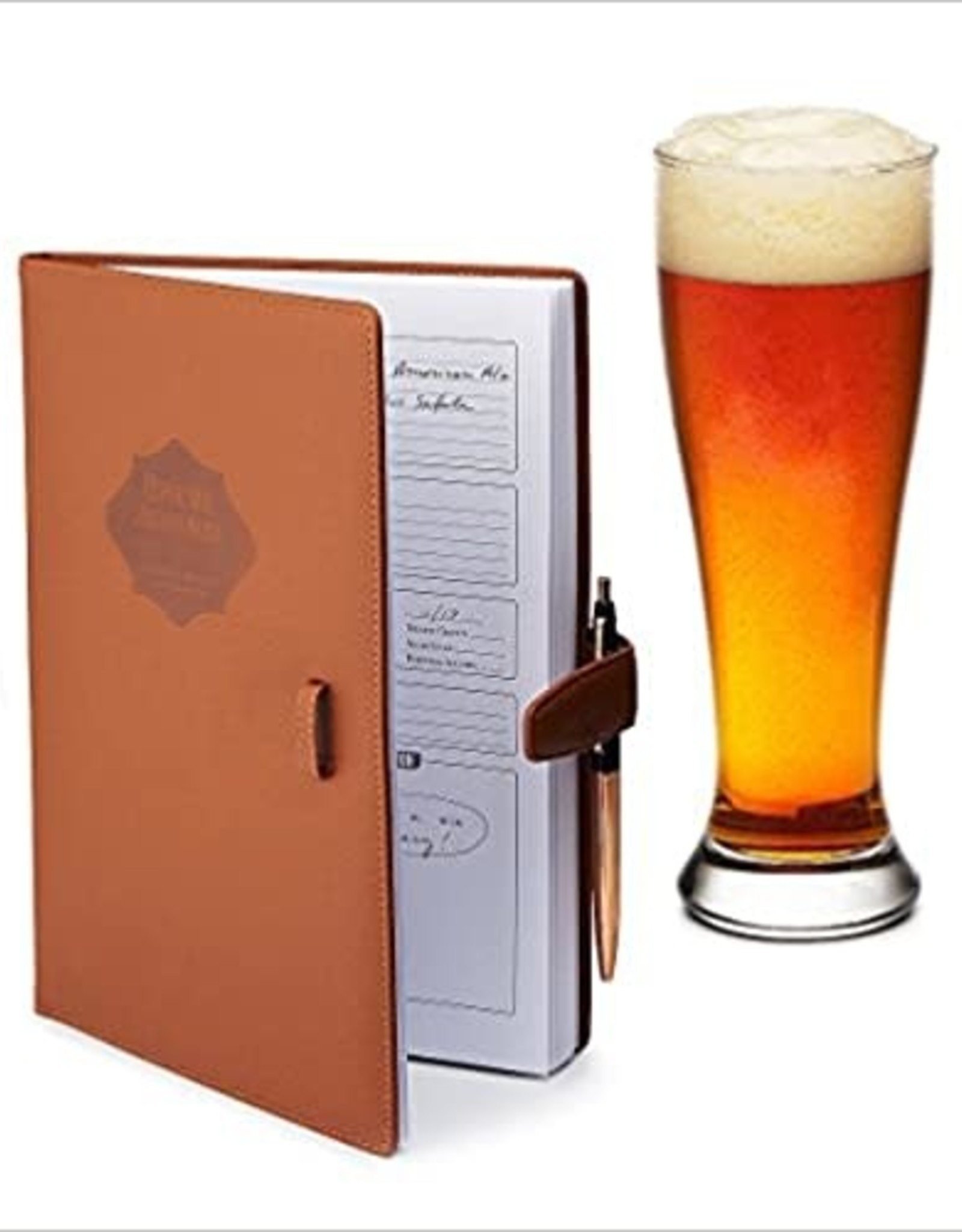Home brew Journal for Craft Beer Homebrewers