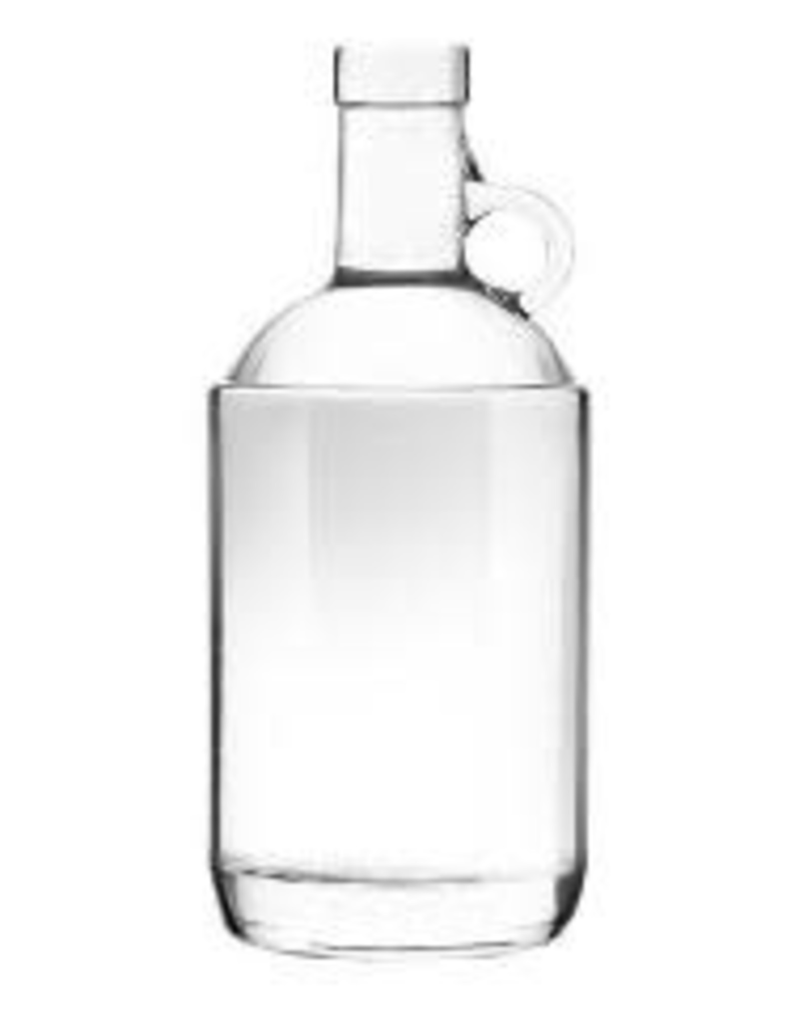CLEAR 375ML MOONSHINE JUG 12/CASE (19.5mm CK Finish) single