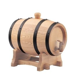 "5 Litre ( 1.32 Gallon ) Oak Barrel #3 Char ""New"""