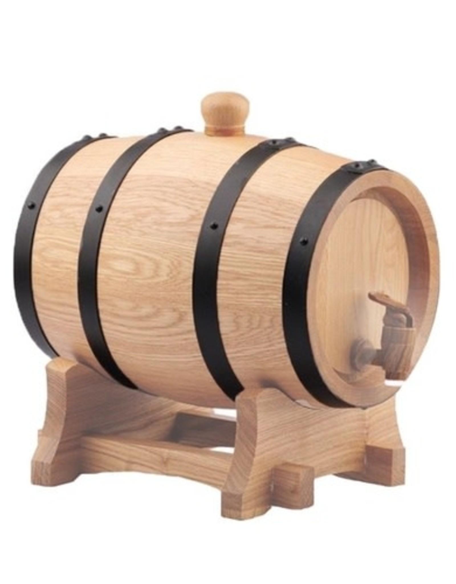 """10 Litre ( 2.64 Gallon ) Oak Barrel #3 Char """"New"""""""