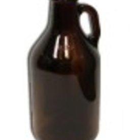 JUG- 1/4 GALLON GLASS AMBER