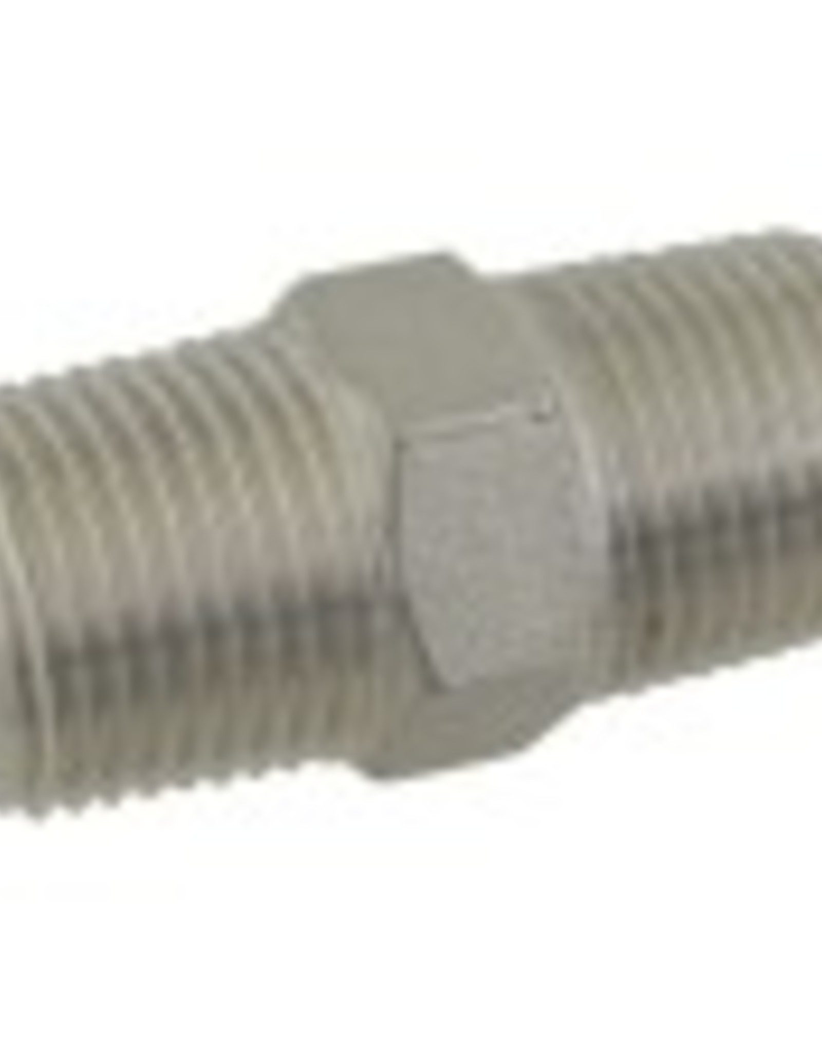Stainless Hex Nipple - 1/2 in. x 1 3/4 in. Threaded