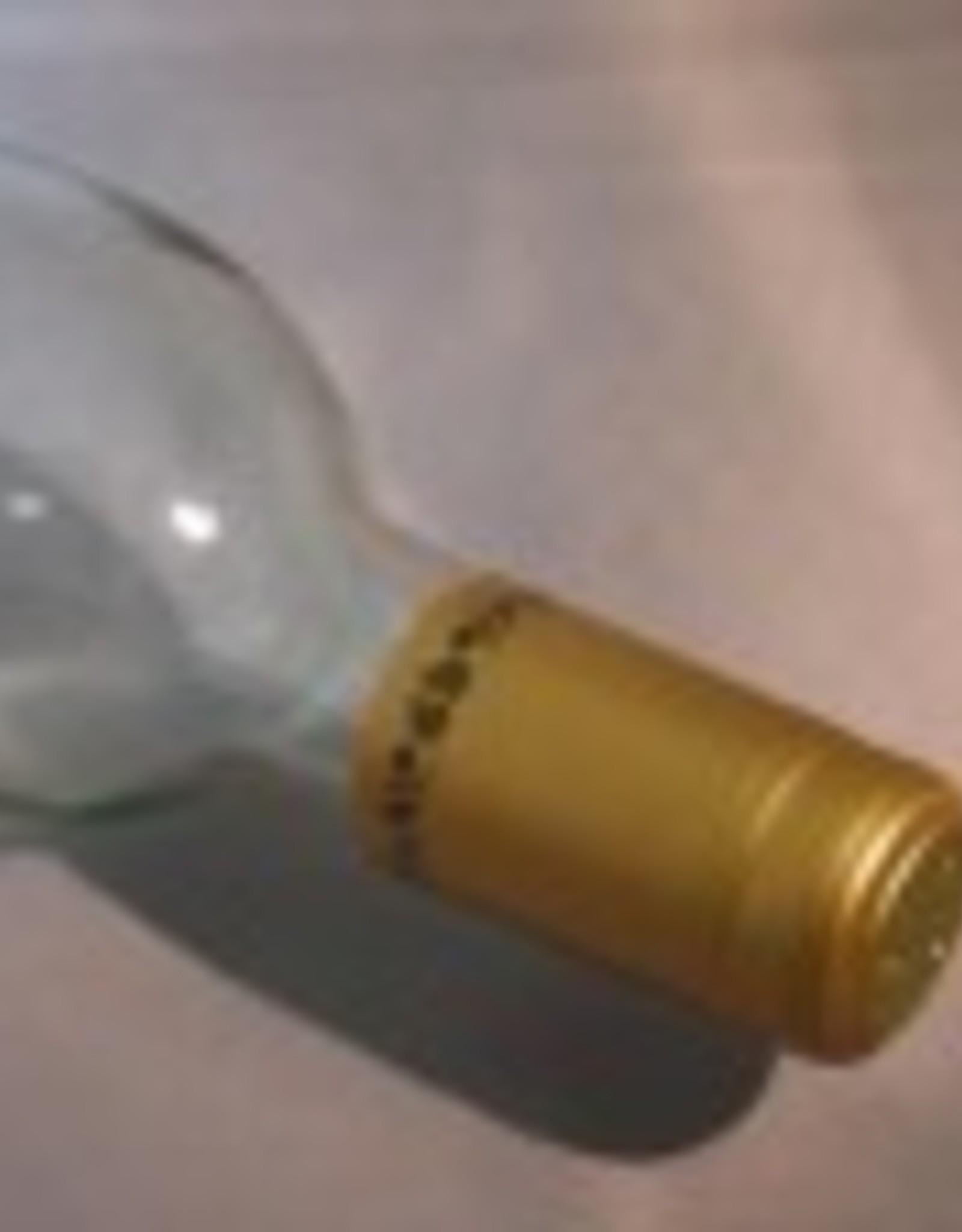PVC SHRINK CAPS GOLD/BLACK GRAPES 30CT