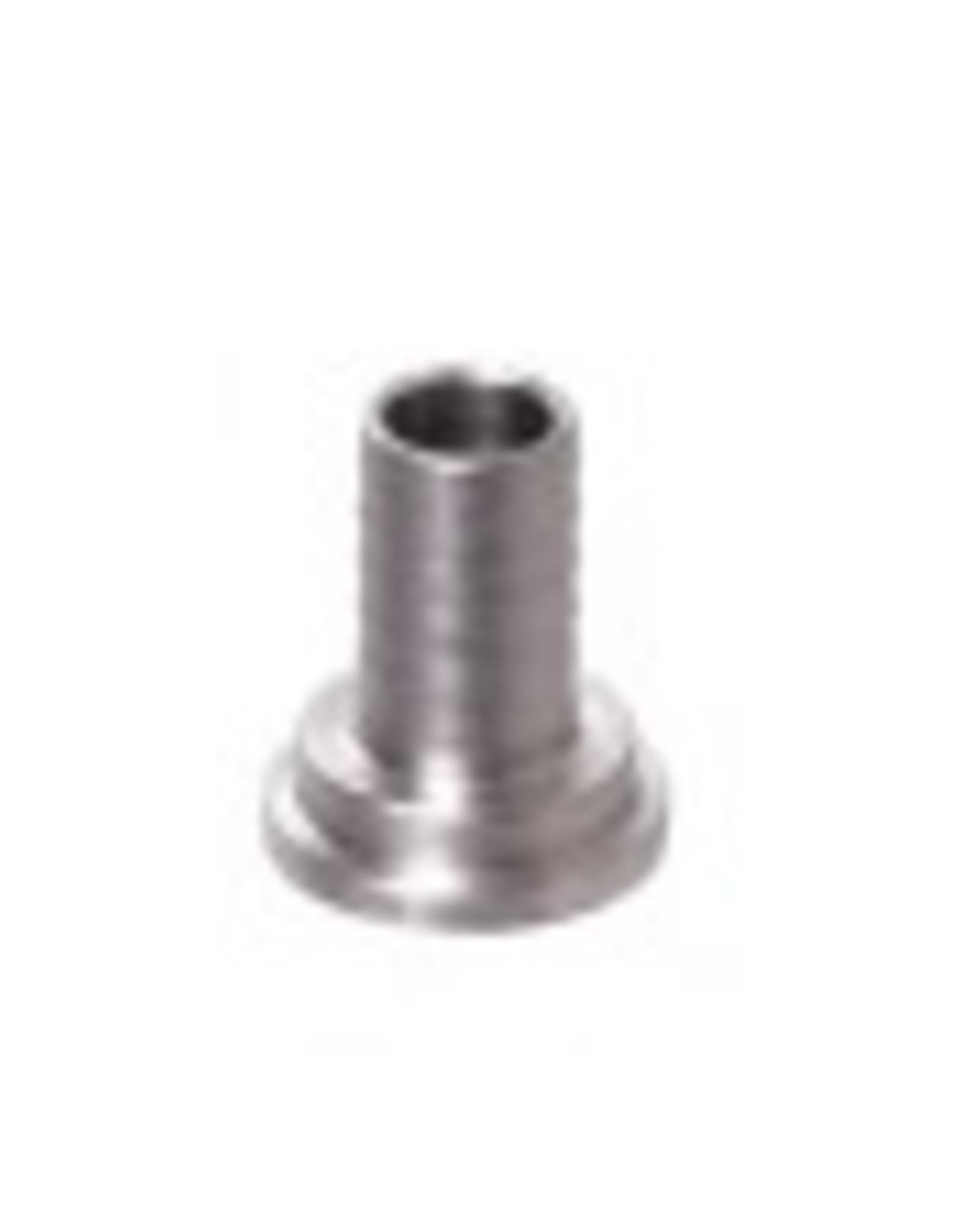 "TAILPIECE- 3/8"" BARB STAINLESS STEEL"