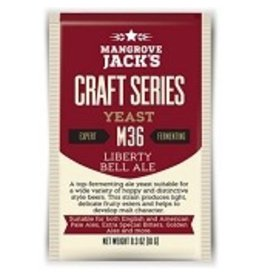 BREWCRAFT MANGROVE JACK'S- M36  LIBERTY BELL ALE