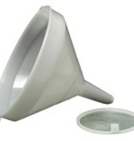 Funnel - 21 cm (8-1/4 in) - White Plastic