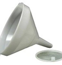 Funnel - 21 cm (8-1/4 in) - White Plastic