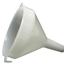 Funnel - 12 cm (4-3/4 in) - White Plastic