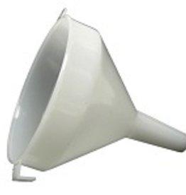 Funnel - 12 cm (4-3/4 in) - White Plastic