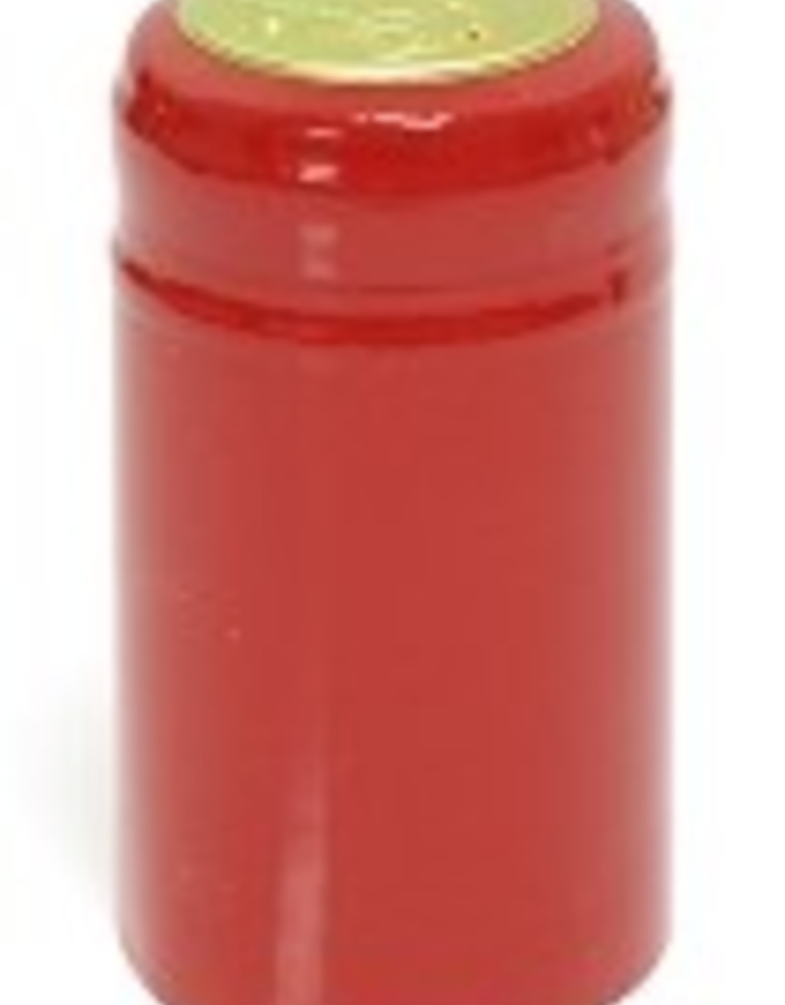 PVC SHRINK CAPS RED 30CT