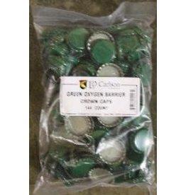 CAPS-GREEN BAG OF 144