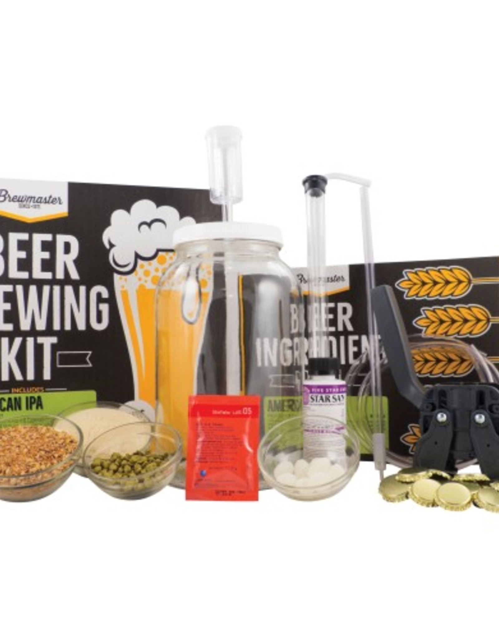 1GAL HOMEBREW STARTER KIT (SUMMER WHEAT)