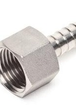 """3/8"""" BARB X 1/2"""" FPT HOSE FITTING"""