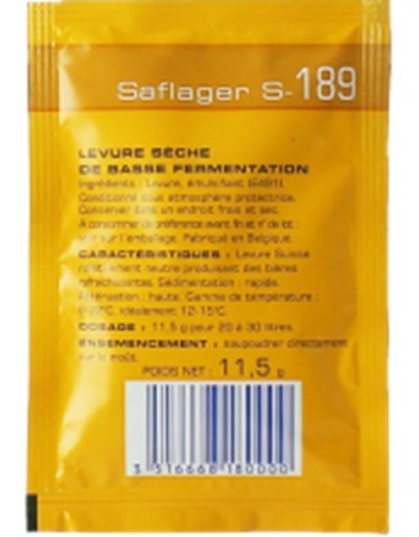 FERMENTIS SAFELAGER S-189