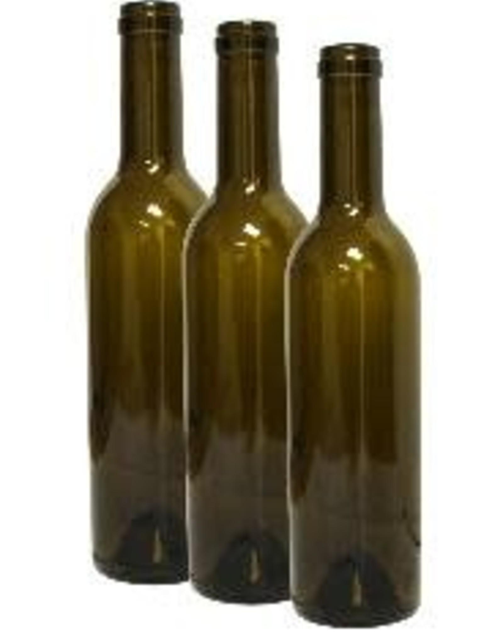 375 ml. DARK GREEN SEMI-BORD 24/CS