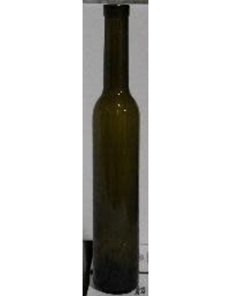 BOTTLE- 375mL ANTIQUE GREEN BELLISSIMA BOTTLES CORK FINISH 12/CASE