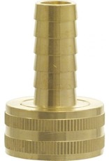 "GARDEN HOSE FITTING- FEMALE X 1/2"" BARB"
