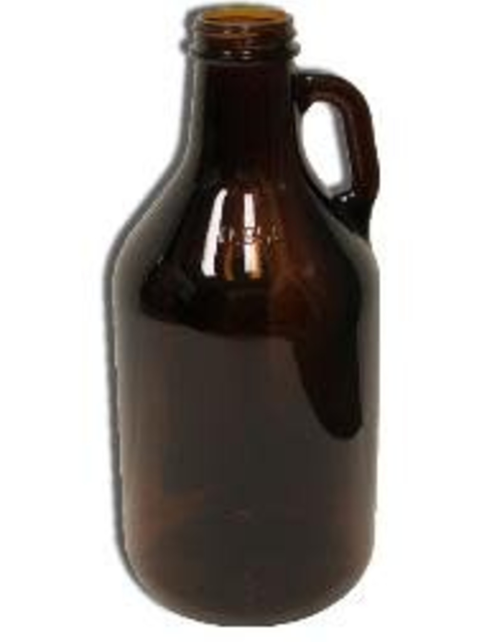 JUG- 1/4 GALLON GLASS AMBER