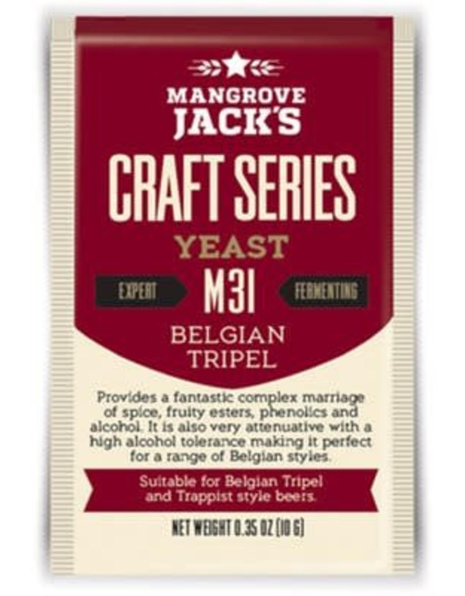 MANGROVE JACK'S BELGIAN TRIPEL M31