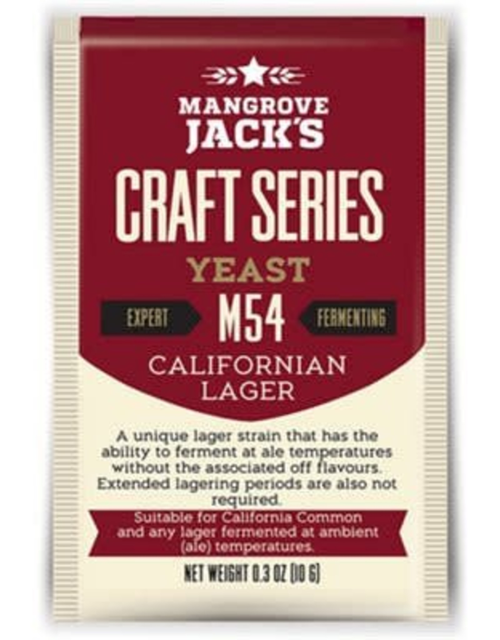 MANGROVE JACK'S CALIFORNIA LAGER M54