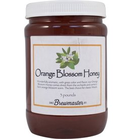 ORANGE BLOSSOM HONEY 3 lb JAR