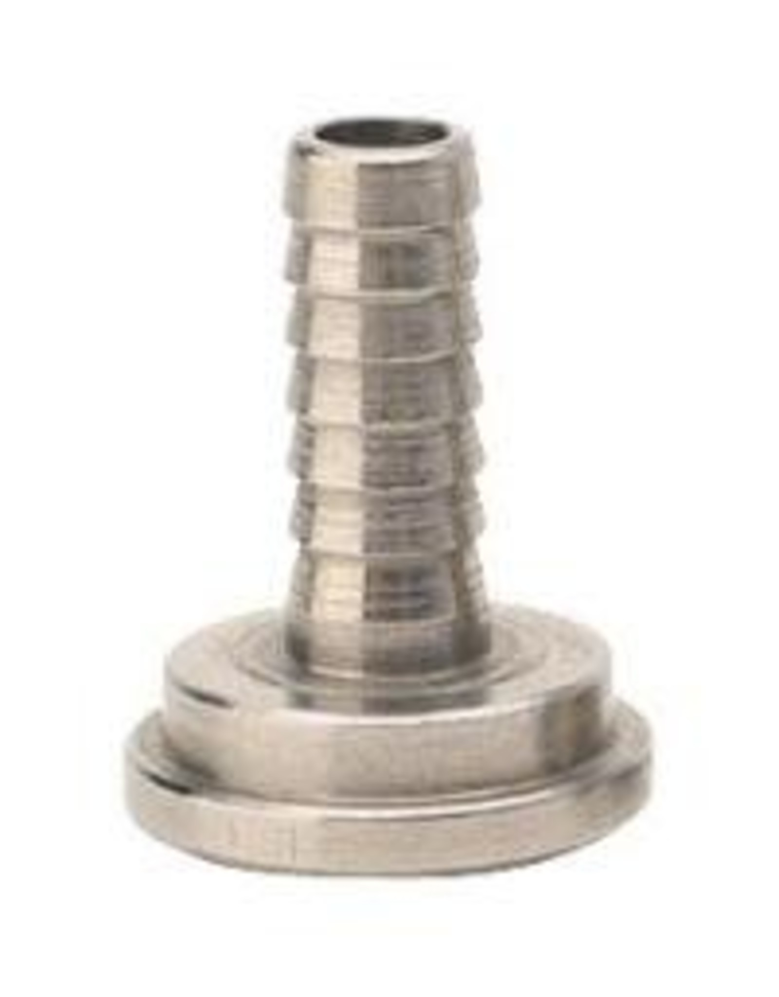 """TAILPIECE- 1/4"""" BARB STAINLESS STEEL"""
