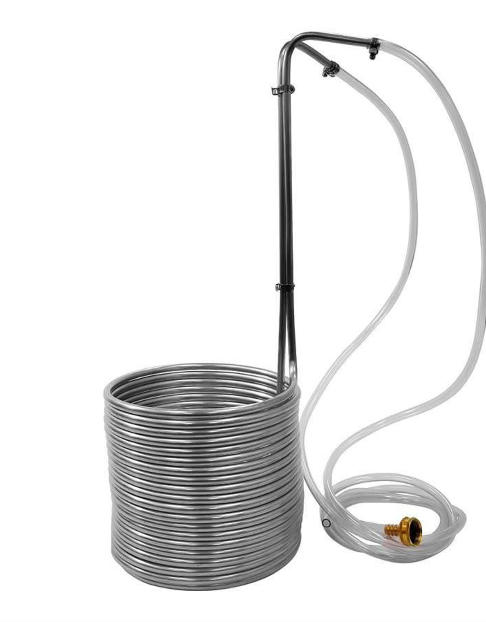 """WORT CHILLER- IMMERSION 50' X 3/8"""" STAINLESS(BC)"""