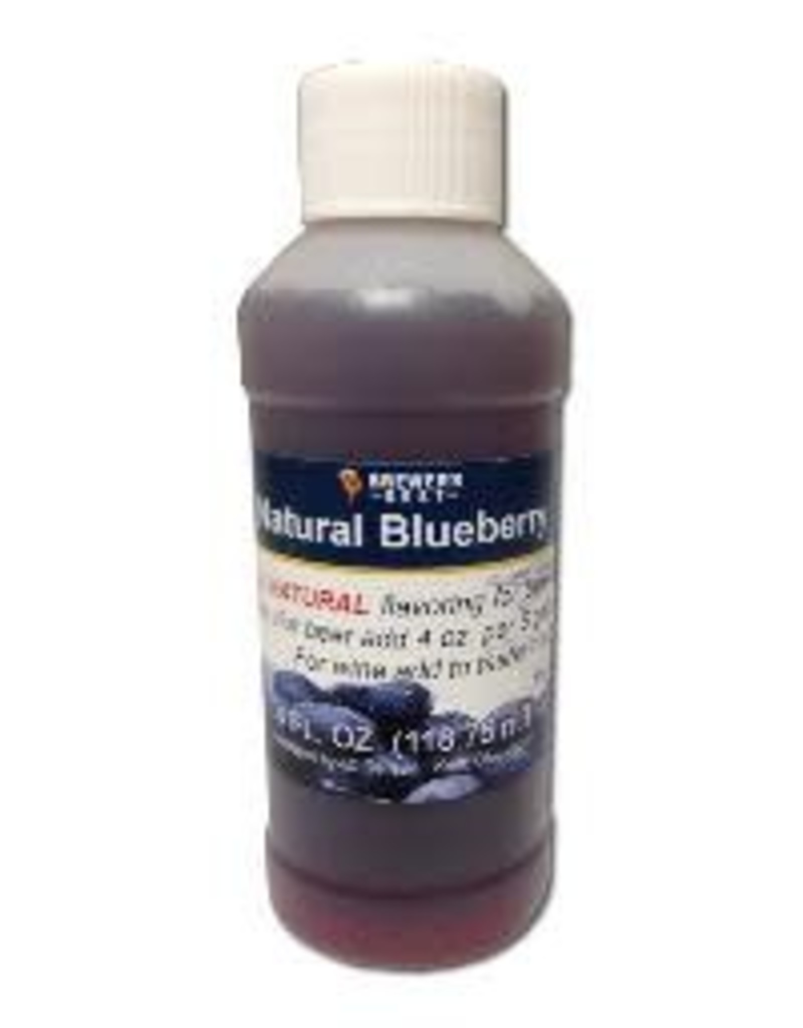 BLUEBERRY FLAVORING 4oz. NATURAL