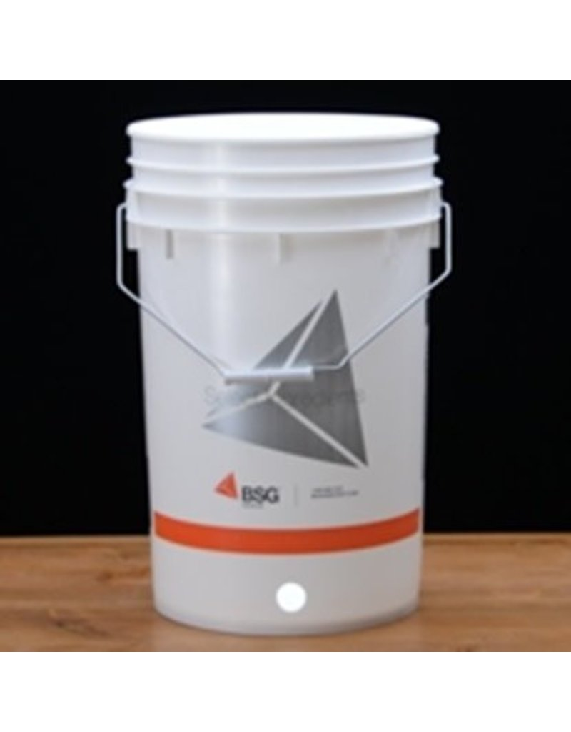 BUCKET- 6.5 GALLON WITH HOLE FOR SPIGOT