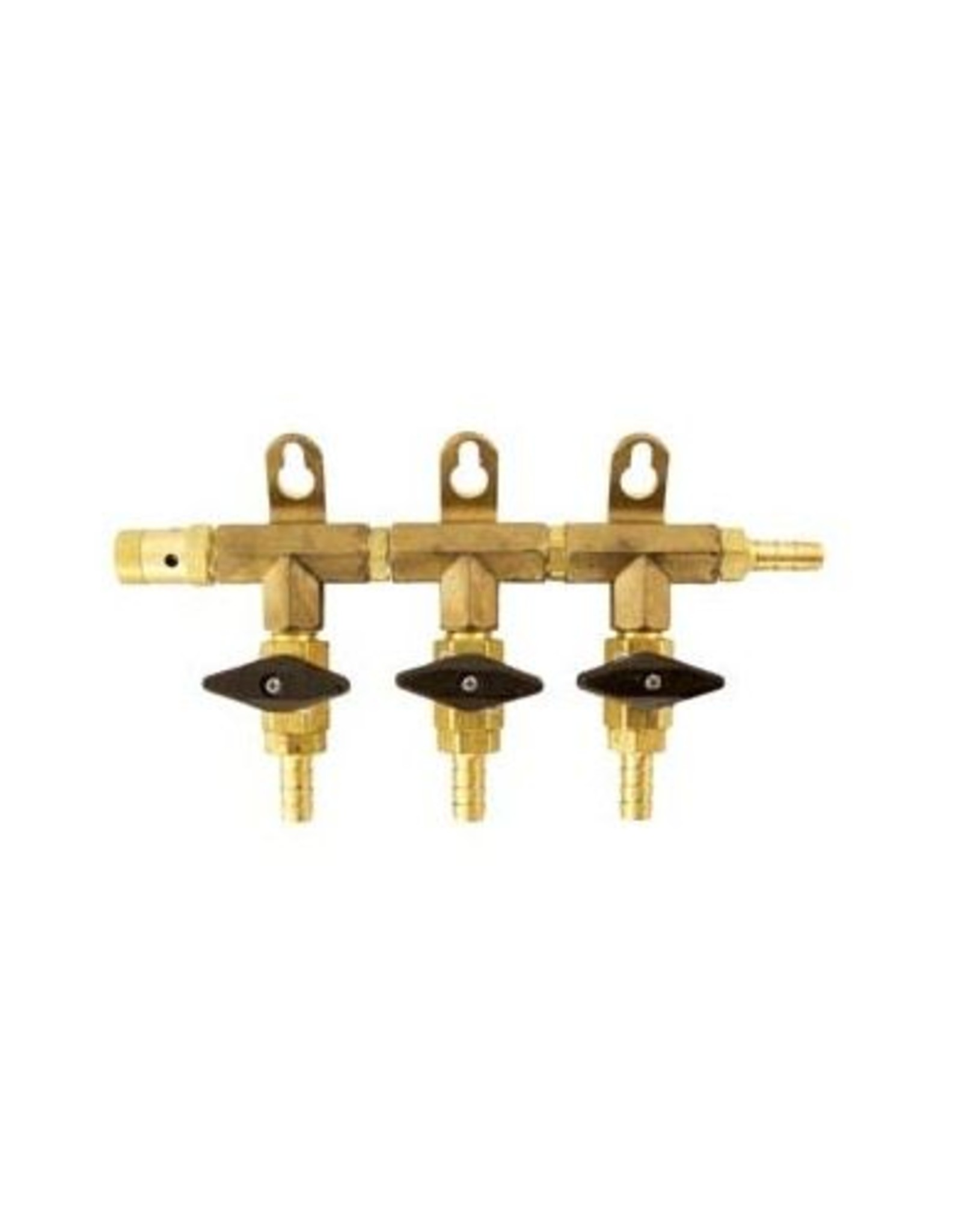 "MANIFOLD 3-WAY BRASS 5/16"" BARB"