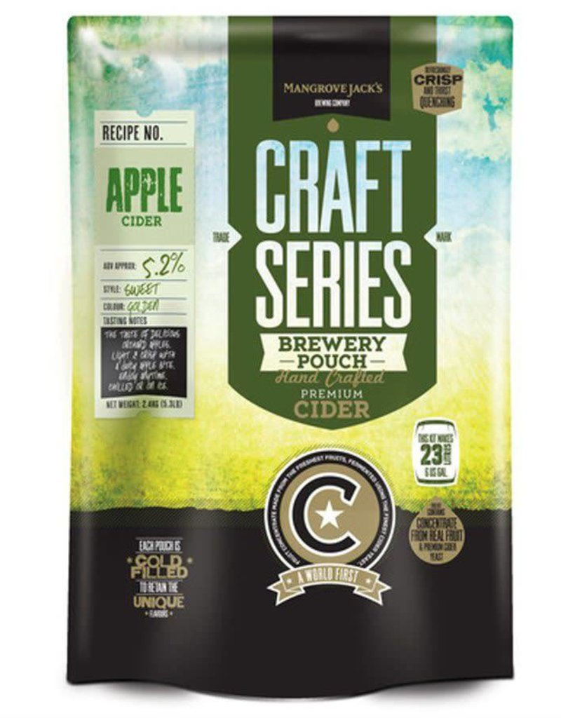 MANGROVE JACK'S CRAFT APPLE CIDER POUCH