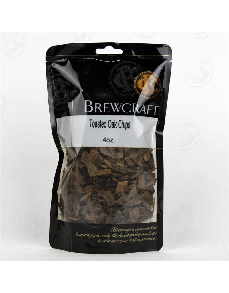BREWCRAFT AMERICAN OAK CHIPS TOASTED- 4oz