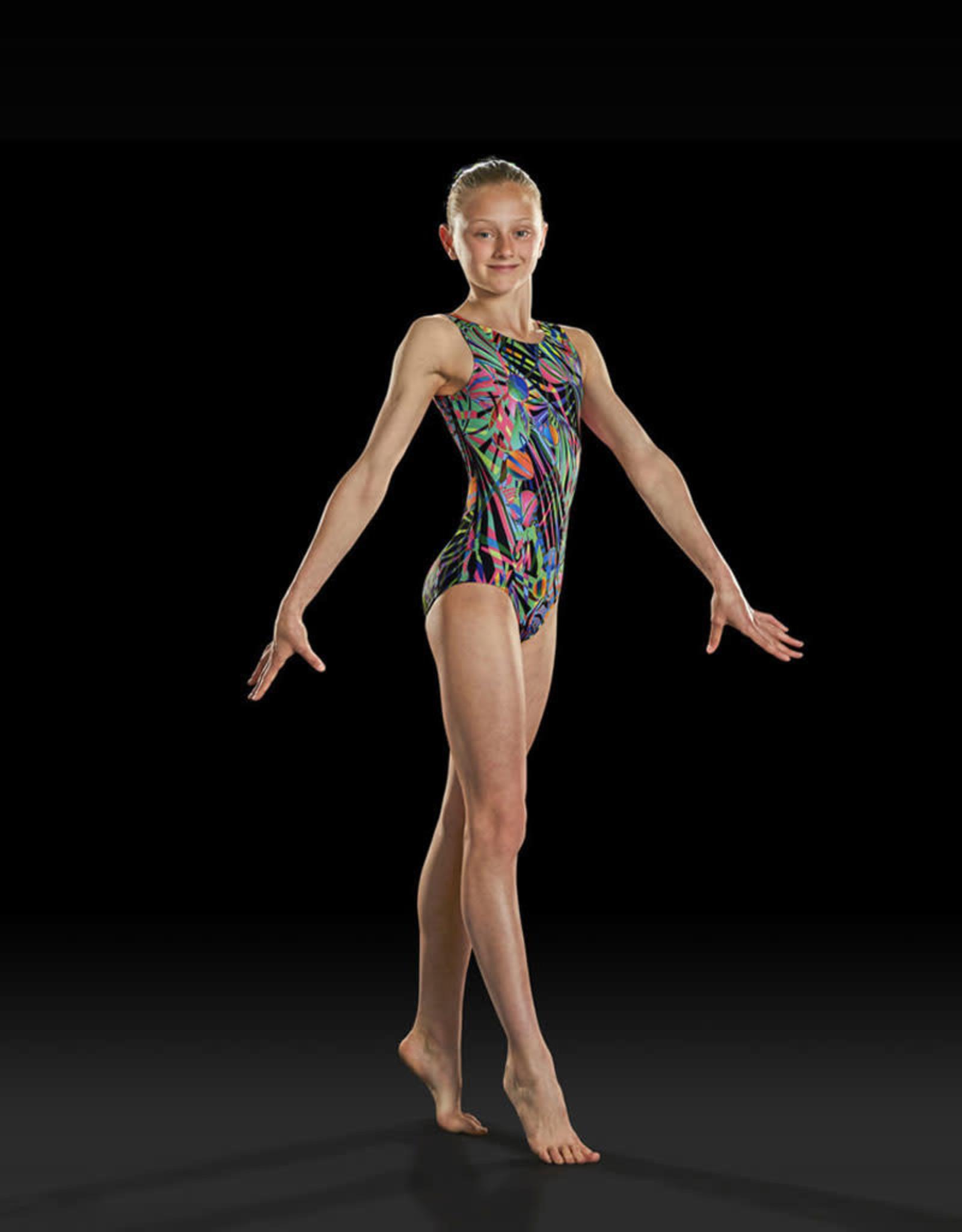 Bloch leotard gymnastique GB158C