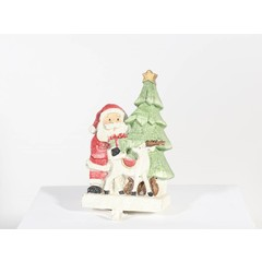 "Accroche bas de Noël Père Noël 9"""
