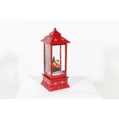 Lanterne boule de neige Père Noël 11''
