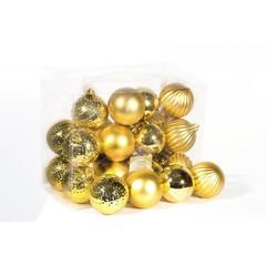 Boules or brillant/mat (boite de 24)