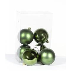 Boules vertes assorties (boite de 6)