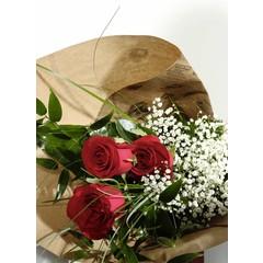 Bouquet de 3 roses SV-010