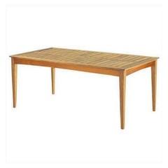 "Kingsley Bate Amalfi - Table à diner 73"" - (6 places)"