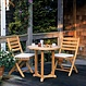 """Kingsley Bate Essex - Table bistro ronde 30"""" - (2-3 places)"""