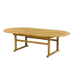 "Kingsley Bate Essex - Table à diner 78-100"" - (8-12 places)"
