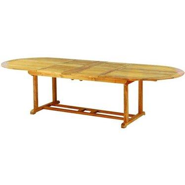 "Kingsley Bate Essex - Table à diner 80-114"" - (8-12 places)"