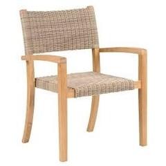 Kingsley Bate Venice - Chaise à diner à bras