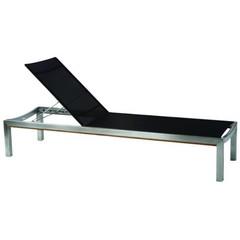 Kingsley Bate Tiburon - Chaise longue noire