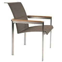Kingsley Bate Tivoli - Chaise à bras noire