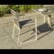 Life Outdoor Living Primavera - Chaise à diner - Crème taupe